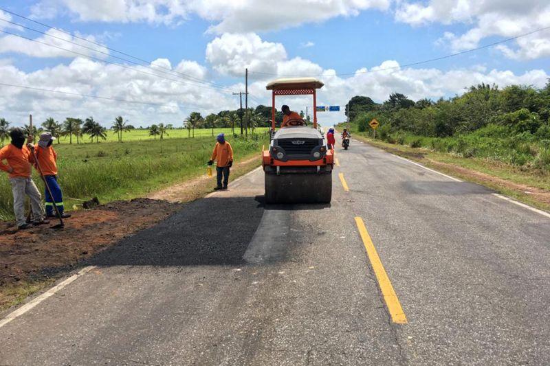 Mais de 80 frentes de trabalho executam obras em rodovias paraenses
