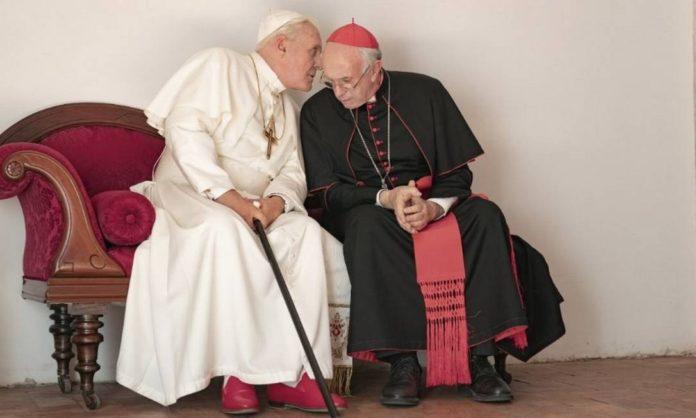 'Dois Papas' ganha primeiro teaser com Anthony Hopkins como Bento XVI
