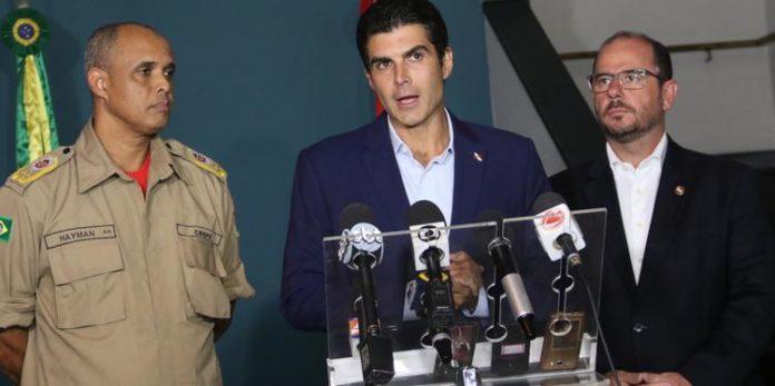 Governador do Pará solicita apoio federal para combate de incêndios no estado