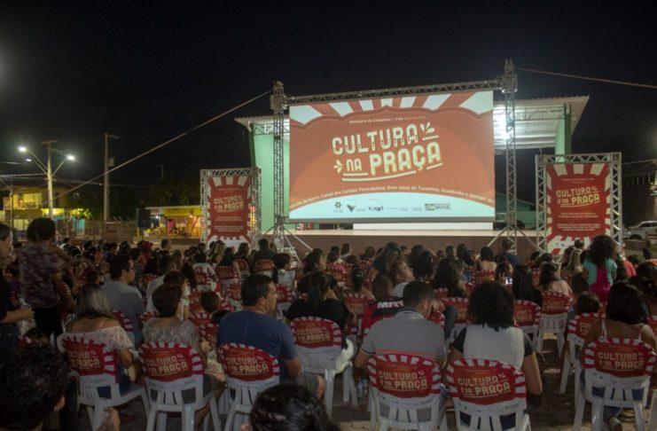 Cultura na Praça já passou por Ourilândia do Norte e Canaã dos Carajás/ Fotos: Divulgação