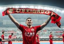 Elkeson trocou o Shanghai SIPG pelo Guangzhou Evergrande e agora foi convocado para a seleção Foto: Reprodução Sina.com