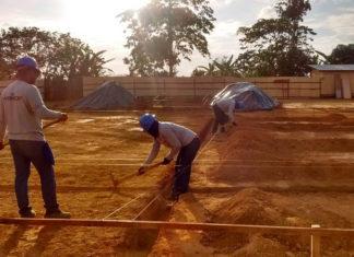 Uma nova escola para estudantes da Vila Zé do Ônibus está sendo construída