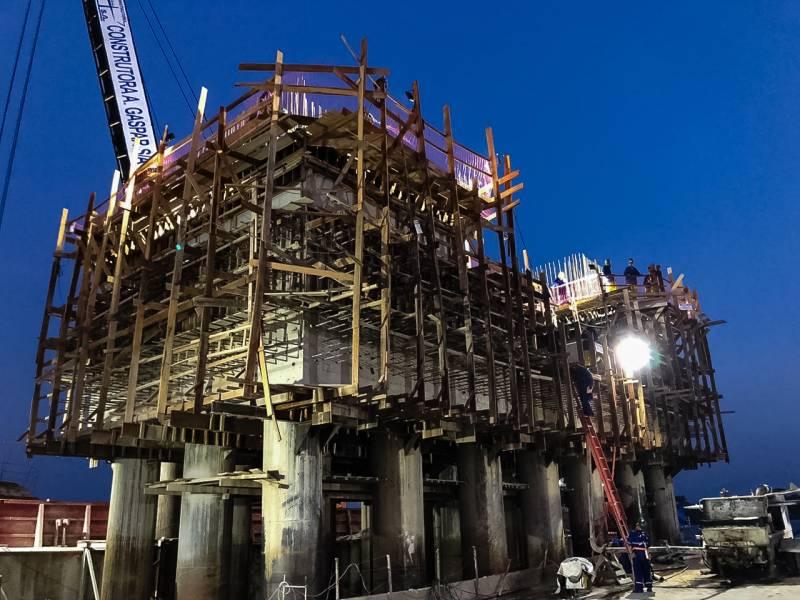 Reconstrução da ponte rio Moju entra em sua terceira fase