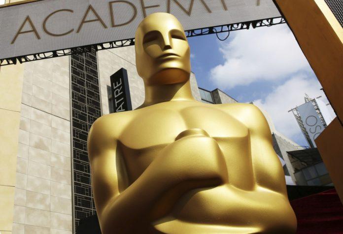 Entrada da cerimônia do Oscar 2019 — Foto: Matt Sayles/Invision/AP