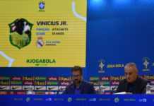 Tite, técnico da Seleção, anuncia a convocação da Seleção — Foto: Pedro Martins / MoWA Press