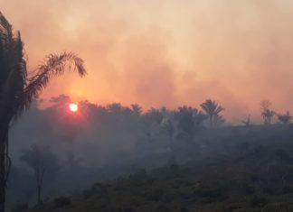 Acre decretou estado de emergência nesta sexta-feira (23) — Foto: Arquivo/Corpo de Bombeiros