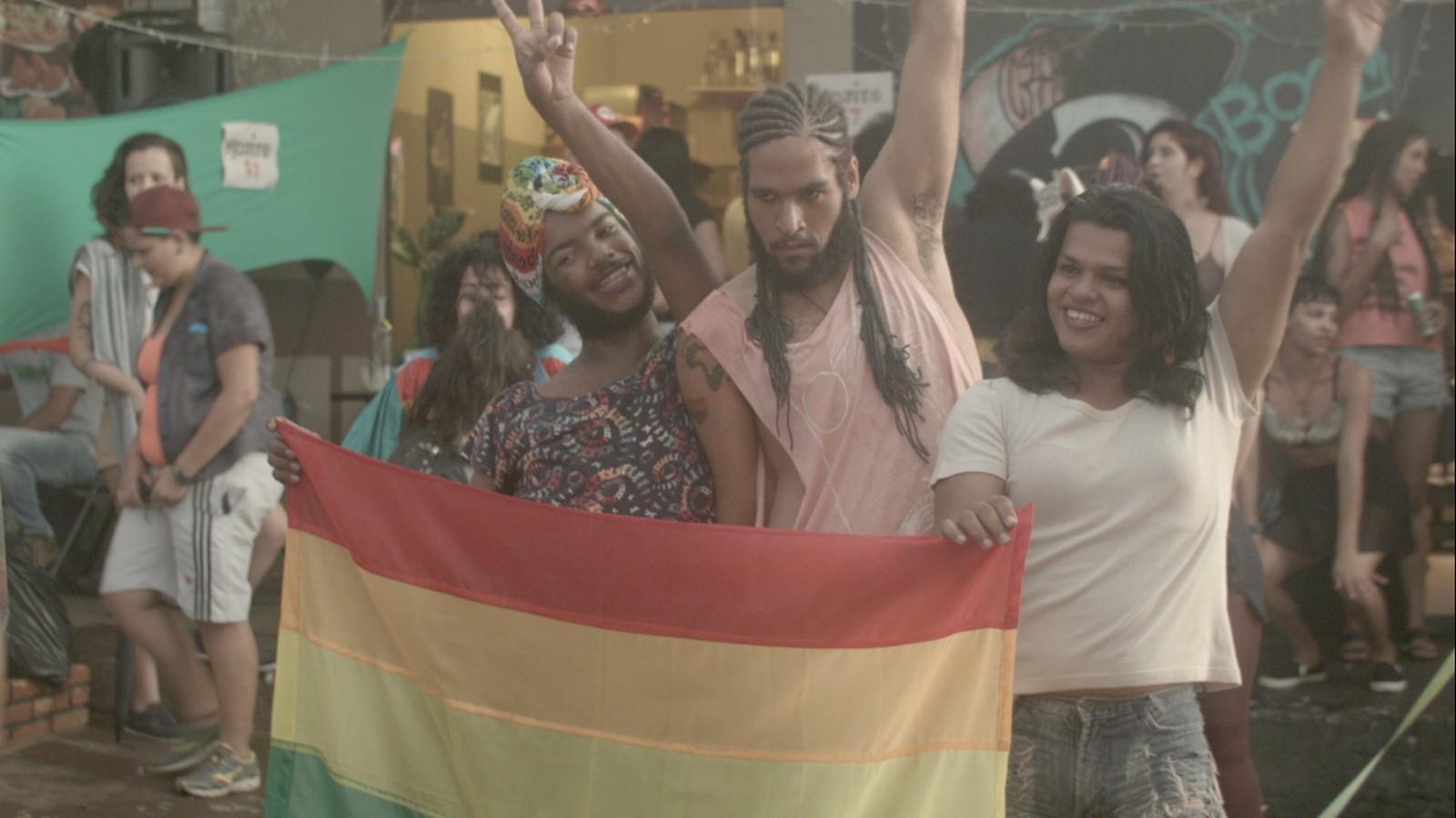 Cena do curta-metragem 'Afronte' — Foto: Divulgação