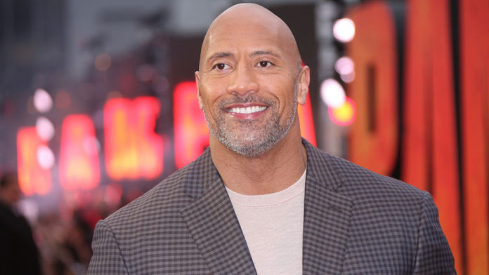 Mandatory Credit: Photo by Joel C Ryan/Invision/AP/REX/Shutterstock (9624970ac) Actor Dwayne Johnson poses for photographers upon arrival at the premiere of the film 'Rampage' in London Britain Rampage Premiere, London, United Kingdom - 11 Apr 2018