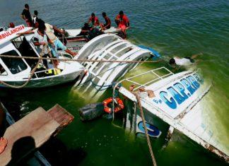 Equipes trabalham na busca de desaparecidos após naufrágio de um barco no Rio Xingu, na região de Ponte Grande do Xingu, entre Porto de Moz e Senador José Porfírio, no Pará — Foto: Paulo Vieira/Arquivo Pessoal