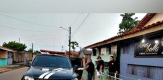 Nove suspeitos de envolvimento com tráfico de drogas são presos em Breu Branco