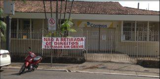 Servidores dos Correios em Parauapebas aderem à greve