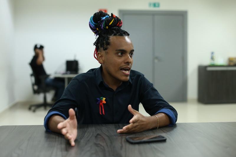 Conheça o jovem que, aos 23, é protagonista do movimento LGBTI em Marabá