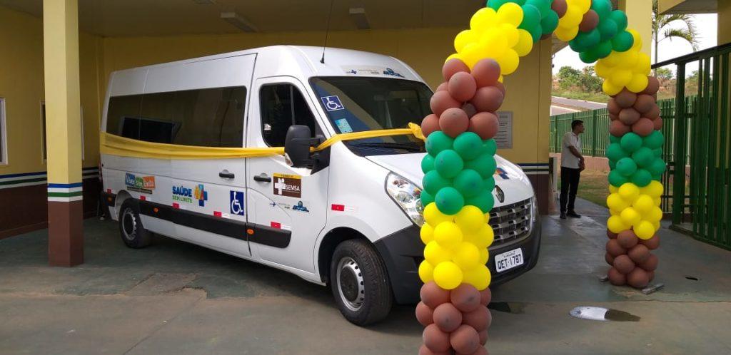 Parauapebas: CER recebe van adaptada para transporte de pacientes