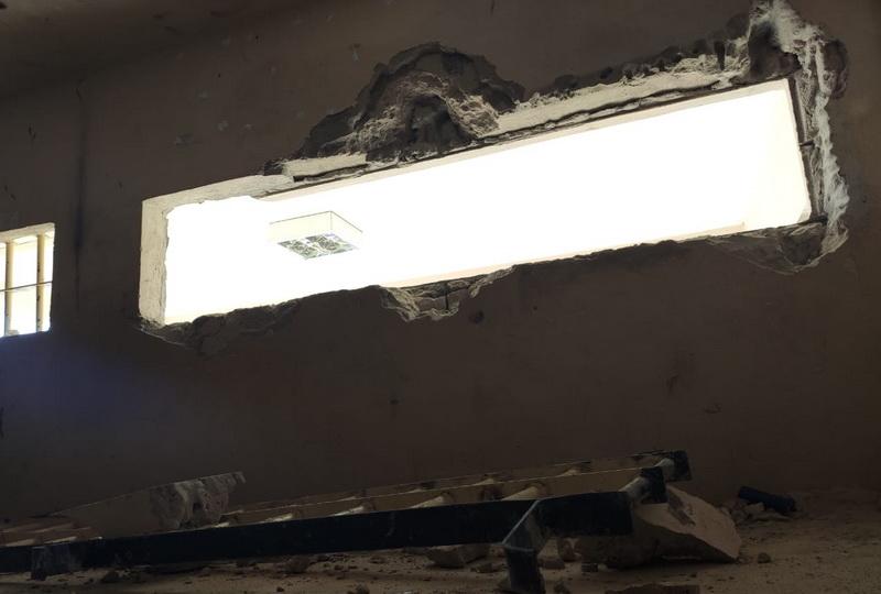 Tucumã: Presos arrancam grade de janela e fogem de delegacia