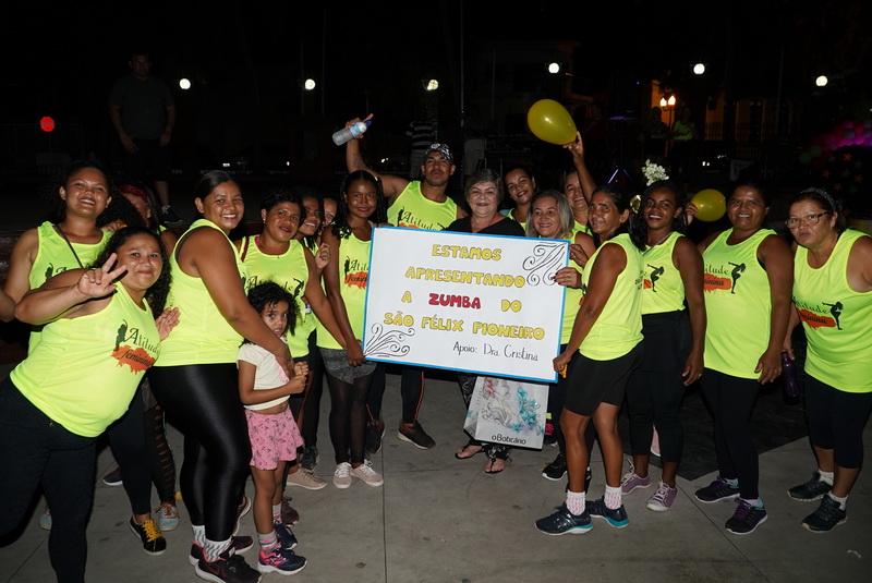 Grupo Atitude Feminina celebra a saúde com aulões de zumba