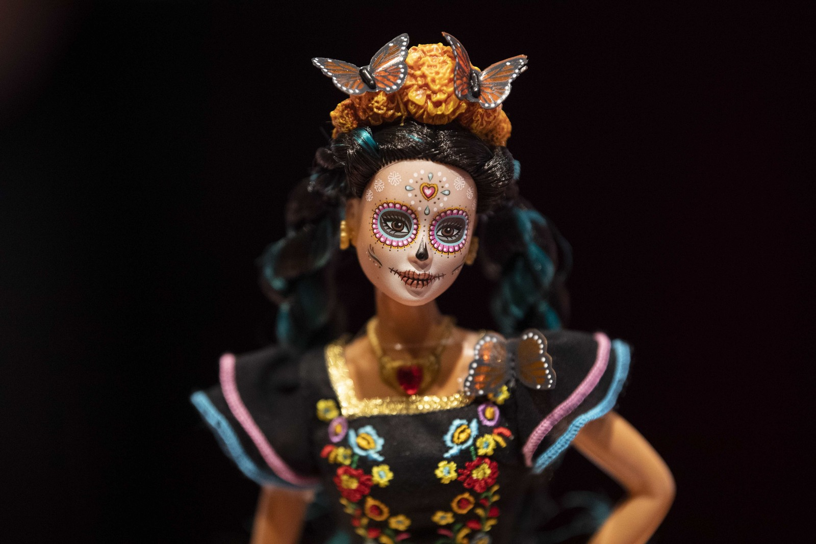Edição especial da Barbie é lançada no México para Dia dos Mortos