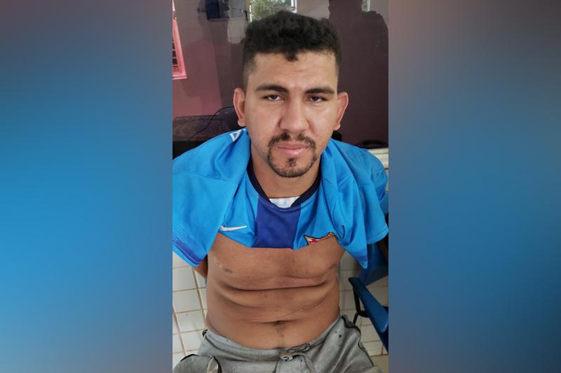 """Parauapebas: """"Boneco da Nike"""", apontado como líder de facção, é preso"""