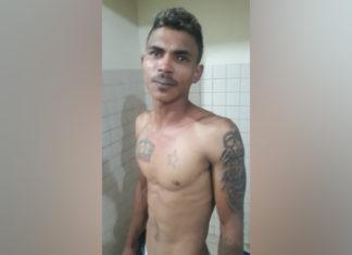 Maxsuel foi preso nesta manhã na Rodovia Faruk Salmen. (Foto: Divulgação)