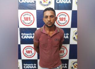 Polícia prende em Canaã suspeito de homicídio em Parauapebas