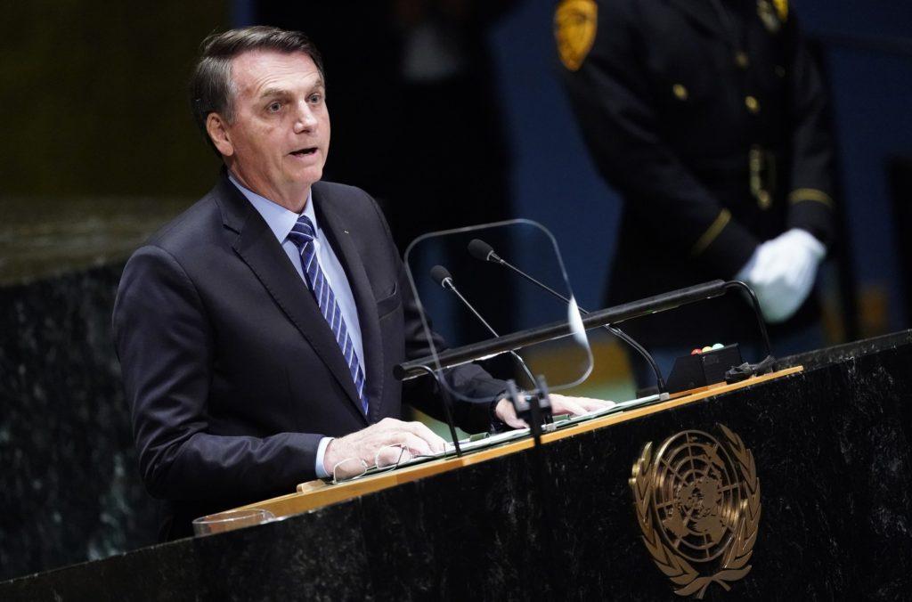 Em discurso na Assembleia Geral da ONU, presidente chamou de 'falácia' afirmação de que Amazônia é patrimônio da humanidade.