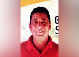 Gutemberg Santana (morto a tiro): Gutemberg Santana foi executado dentro da casa onde estava. (Foto: divulgação)