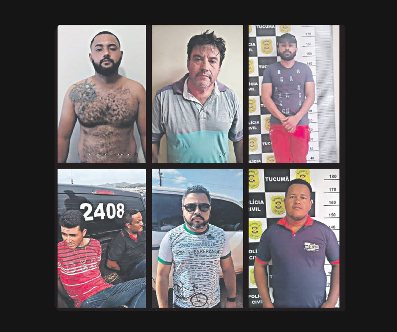 Sete são presos em Marabá e região