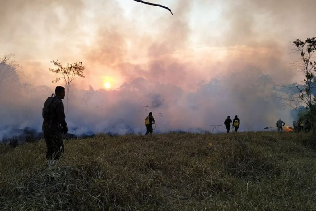 Focos de incêndio atingem região sudeste do Pará