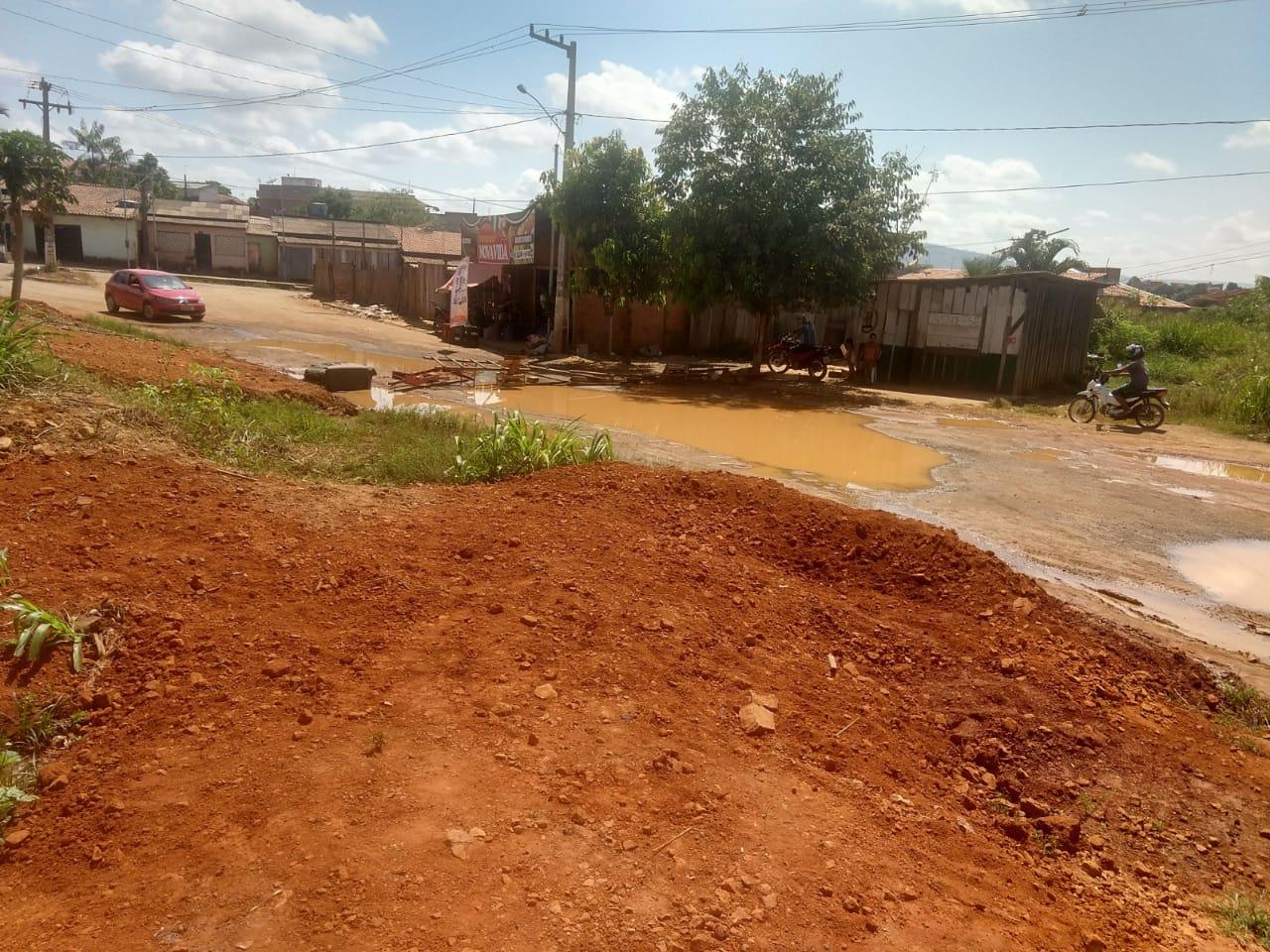 Parauapebas: Semob vai fazer drenagem e pavimentação asfáltica no Nova Vida II