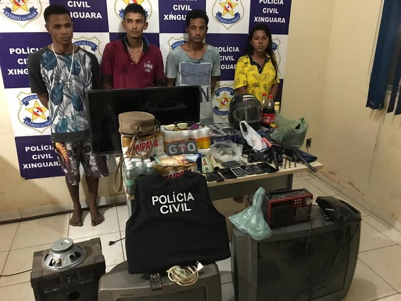 Xinguara: Presa quadrilha suspeita de cometer diversos assaltos