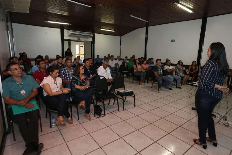 Representantes de 36 unidades da Ematel participaram da capacitação. (Foto: Evangelista Rocha)