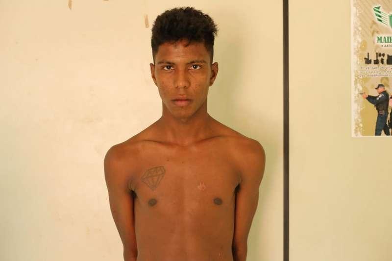 Polícia prende acusado de assalto à luz do dia