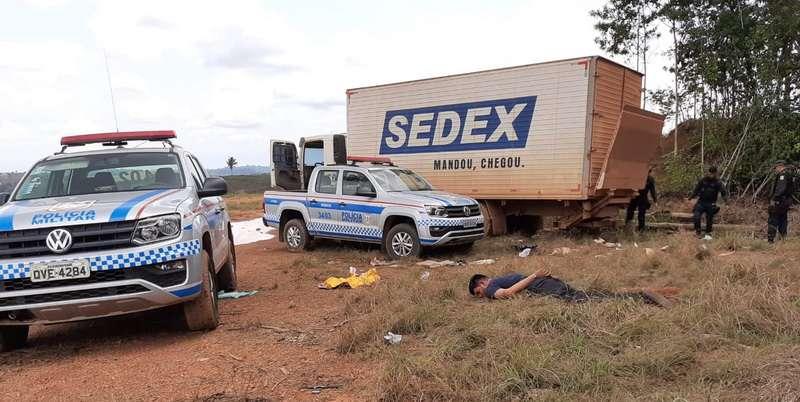 Presa em Marabá quadrilha que assaltou caminhão dos Correios