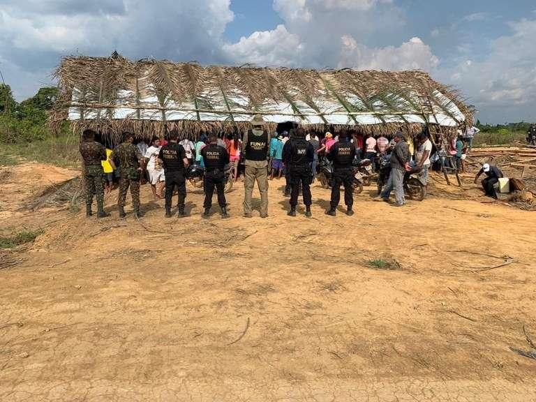 São Félix do Xingu: PF começa a cumprir decisão de reintegração de posse em terra indígena