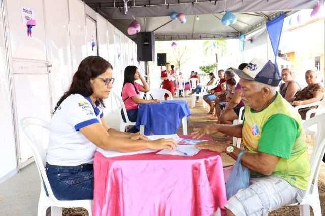 Canaã realiza mutirão de saúde do Outubro Rosa e Novembro Azul