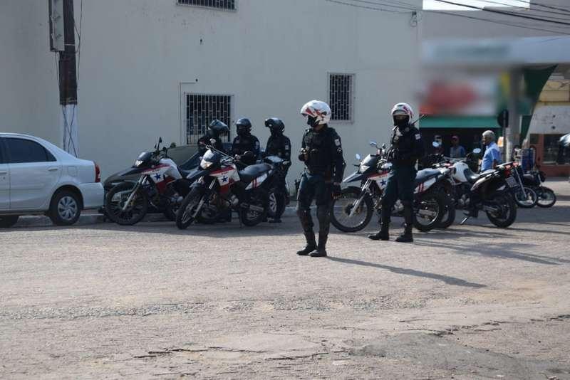 Carregamento de dinheiro mobiliza grande aparato policial