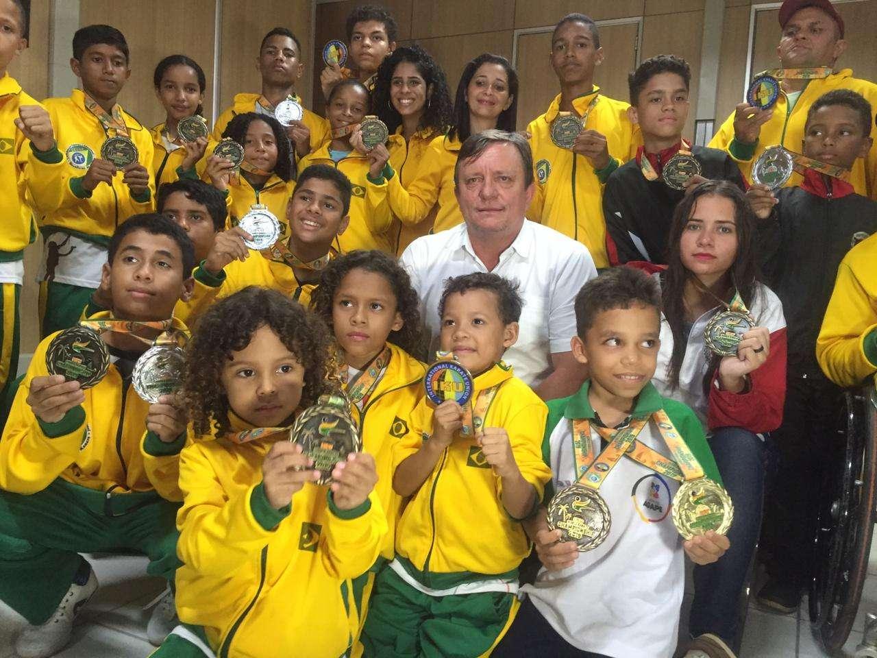 Parauapebas soma 54 medalhas, sendo 9 de ouro, em Mundial de Karatê