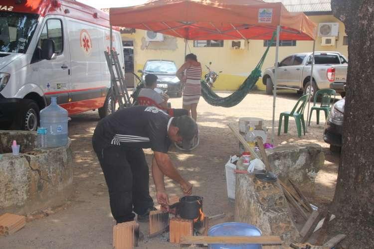 Prefeito de Curionópolis dá calote em empresário que monta acampamento na prefeitura