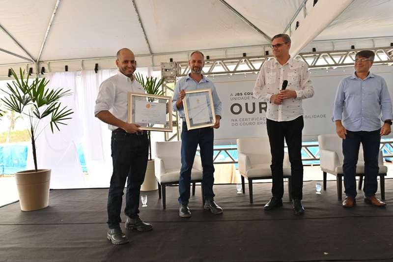 JBS Couros unidade Marabá recebe selo Ouro na Certificação de Sustentabilidade do Couro Brasileiro