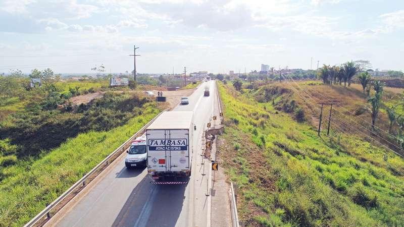 Marabá: Recuperação da cratera na Transamazônica é iniciada
